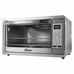 Oster Extra Large Digital Countertop Convection Oven Stainless Steel Tssttvdg...