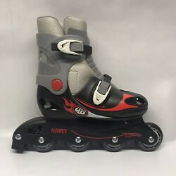 Hot Wheels Adjustable Inline Roller Skates Size 1-4 New Without Box
