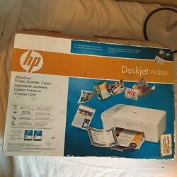 Hp Deskjet F4280 All In One Printer Scanner Copier New Open Box Sealed Contents