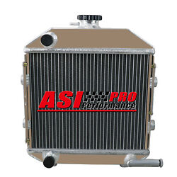 Tractor Aluminum Radiator Fit Ford Compact 1300 Engine Sba310100211 Aftermarket