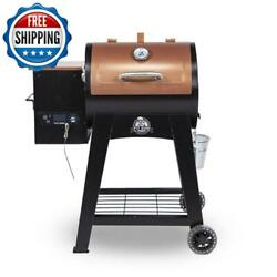 Outdoor Wood Pellet Grill Smoker Heavy-duty Stainless Steel Barbecue Bbq Digital