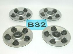 00-02 Olds Intrigue 16 Wheel Painted Center Hub Caps Set Of 4 9593499 B32