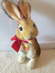 Steiff Rabbit Bunny Manni 1983 / 3020/30 / Approx. 13 Inches / New Without Box