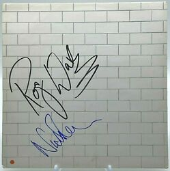 Roger Waters Nick Mason Pink Floyd The Wall Signed Vinyl Aftal Onlinecoa