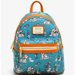 Loungefly Disney Bambi Forest Floral Mini Backpack