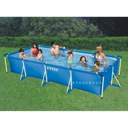 Rectangular Frame Outdoor Above Ground Swimming Pool