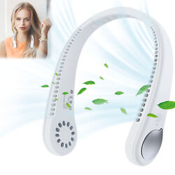 Usb Portable Hanging Neck Fan Bladeless Cooling Air Cooler Conditioner Lazy Fan