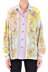Versace Jeans Couture Womenand039s Clothing Shirts Multicolor Nib Authentic