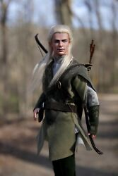 Ooak Customized 2001 Legolas Ken Doll New From Box Lord Of The Rings Doll