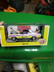 M2 Plymouth Makes It ❣️ The Rapid Transit System 1971 Cuda 440 Free Shipping