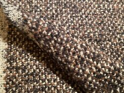 1yd Pollack 3039/03 Bjorn Hide Color Wool Mohair Woven Fabric Italy 425 Retail