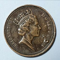 1 Penny 1994. Great Britain. Production Error.