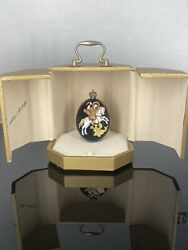 Theo Faberge The Icon St.george And Dragon Egg Sig. 114