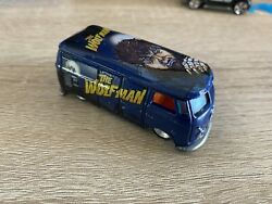 Hot Wheels Volkswagen T1 Panel Bus The Wolf Man Diecast 1/64 2011 Real Riders