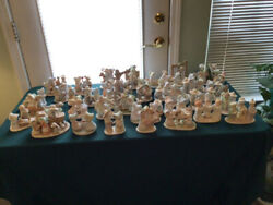 Homco Circle Of Friends Complete Set. Discontinued. Vintage. Beautiful Condition