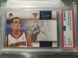 2009-10 Panini Studio Rookie - Stephen Curry Rc - 129 - Golden State Warriors