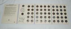 1999-2008 Complete U.s. Fifty State Quarters Coin Set W/ Littleton Album