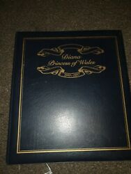 Rare Princess Diana Stamp Collection Book Beautiful Memories Of Our Lady