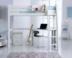 Scallywag Convertible High Sleeper Bed With A Free Standing Desk