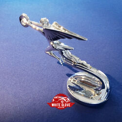Packard Hood Ornament And Radiator Cap - Bale-wire Type