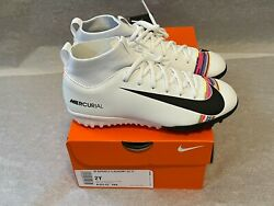 Nike Jr Superfly 6 Academy Gs Tf Soccer Turf Shoes Youth Size 2y Aj3112-109