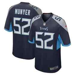 New 2021 Nfl Daniel Munyer Tennessee Titans Nike Game Player Edition Jersey Nwt