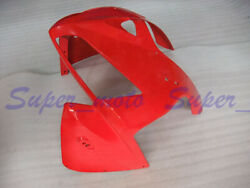 Head Front Fairing Nose Upper Cowl Fit For Honda Cbr600rr F5 2005 2006 All Red