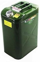 10gallon Steel Heavy Duty Fuel Gas Storage Tank Can Container For Truck Jeep Rv