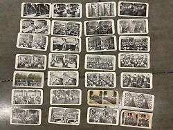 Antique Vintage Collection Of 28 Sears Roebuck And Co Stereoscope Stereoview Car