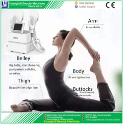 Effective Strong Power New Muscle Building Hiemt Body Sculpting Slimming Machine