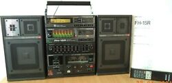Sony Fh-15r Very Rare Vintage Component System All Works Repaired
