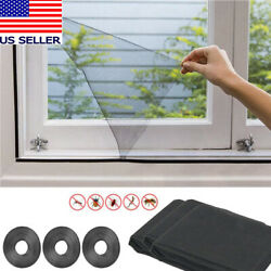 Magnetic Window Mesh Door Curtain Snap Net Guard Mosquito Fly Bug Insect Screen