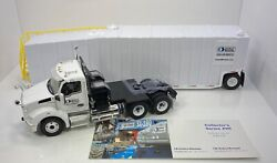 First Gear 1/34 Scale Kenworth T880 W/pinnacle Frac Tank Andldquounited Rentals Version