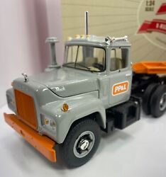 """First Gear 1/34 Scale Mack R-model Tractor W/load """" Pp And L Version"""" Limited"""
