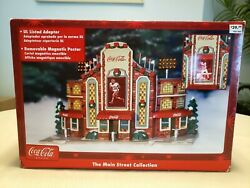 Coca Cola Stadium Village Christmas Building The Main Street Collection New