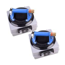Imt 2 Pack 8 Glass Suction Cup Vacuum Glass Lifter With Metal Handle And Bra...