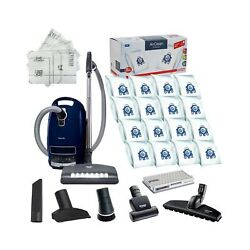 Miele Complete C3 Marin Canister Hepa Canister Vacuum Cleaner With Seb236 Pow...