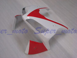 Head Front Fairing Nose Upper Cowl Fit For Honda Cbr600rr F5 2003 2004 Red White
