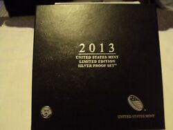 2013 S With W Silver Eagle Limited Edition Silver Proof Set