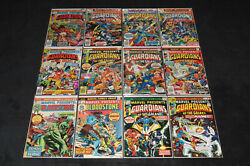 Marvel Presents 1 2 3 4 5 6 7 8 9 10 11 12 Guardians Of The Galaxy 1975 Complete