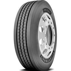 4 Firestone Fs561 245/70r19.5 Load F 12 Ply Steer Commercial Tires