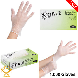1000 Pack Small Powder-free Disposable Vinyl Gloves For Foodservice Clear New