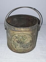 Sinclair Cup Grease Sinco Gas Station Oil Can