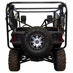 Tusk Hitch Mounted Spare Tire Carrier - Fits Honda Pioneer 1000 2016-2021