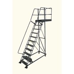 Ballymore Rolling Ladder Capacity 300 Lb Height 150 In. Steel
