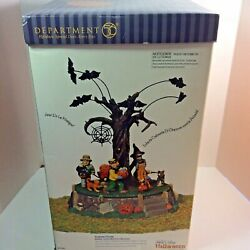 Dept 56 Snow Village Halloween Costume Parade Plays Funeral March Of Marionette