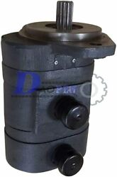 Hydraulic Double Gear Pump 6687864 For Bobcat S130 S150 S160 S175 S185 S205