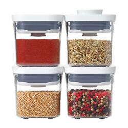 The Container Store - Oxo Good Grips 4-piece Mini Pop Canisters 10075019