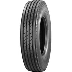 4 New Trazano Cr989 285/75r24.5 Load G 14 Ply Trailer Commercial Tires