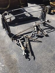 1957 1958 1959 Sunliner Galaxie Fairlane Edsel Ford Convertible Top Parts X2 Set